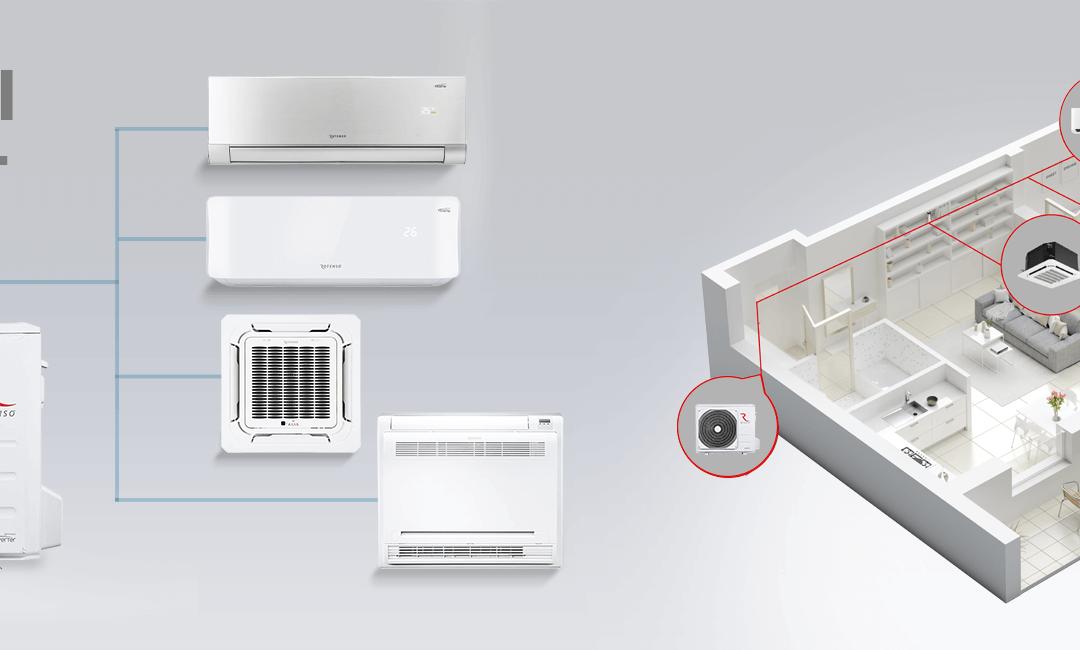 Klimatyzacja – jaką wybrać: split czy multi split?